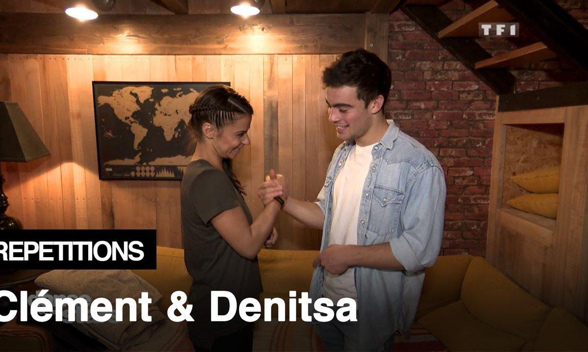 Répétitions - « La danse de la joie » Clément Rémiens et Denitsa vont danser un Quickstep