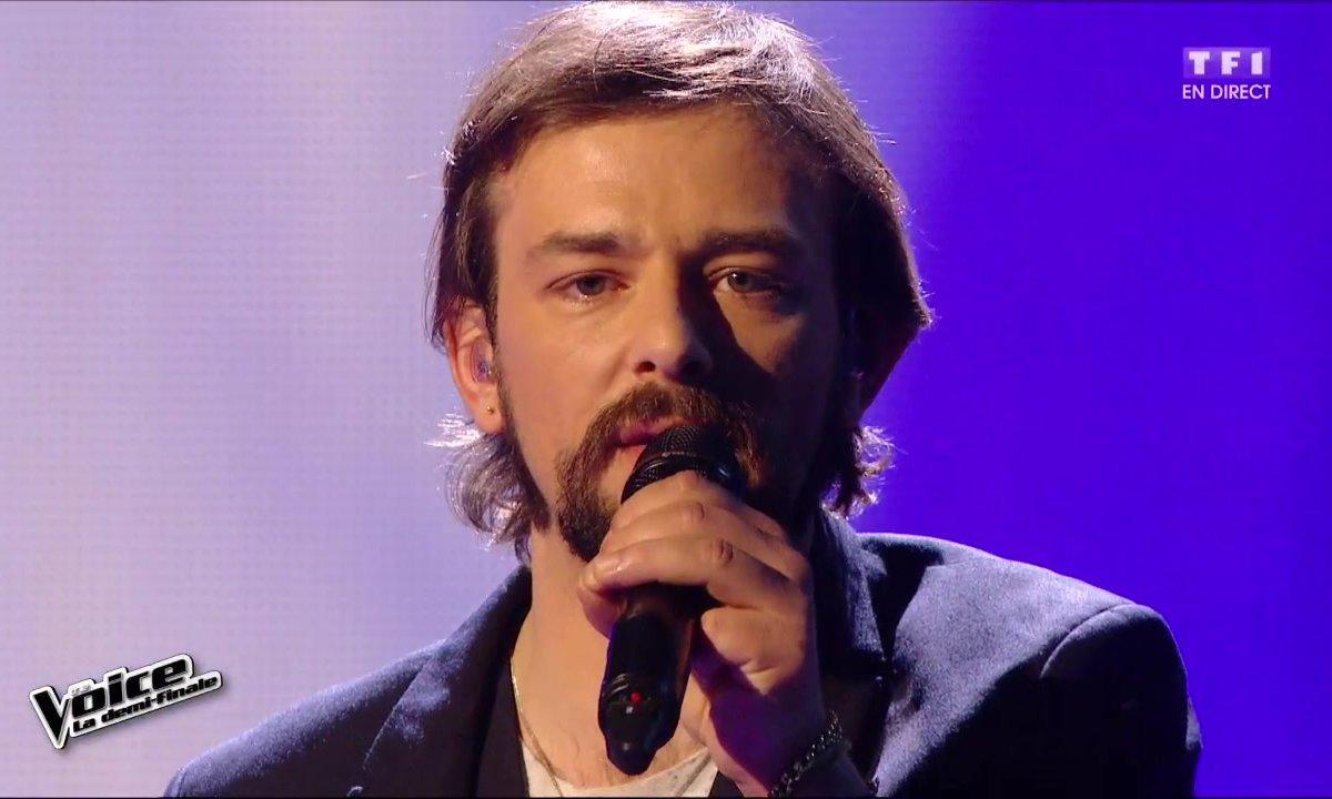 Clément Verzi chante en direct « Pour me comprendre » (M. Berger) pour la demi-finale (Saison 05)