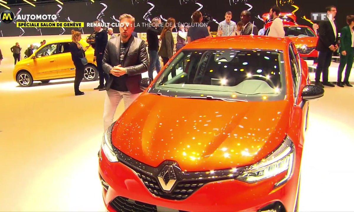Salon de Genève - Renault Clio V : La théorie de l'évolution