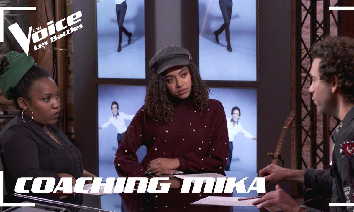 COACHING Mika : Whitney VS Virginie, qui décrochera le ticket pour les directs ?