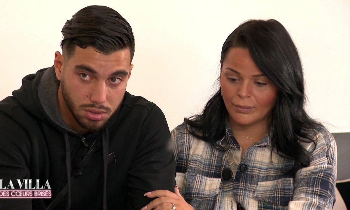 Ahmed fond en larmes, Sarah en souffrance