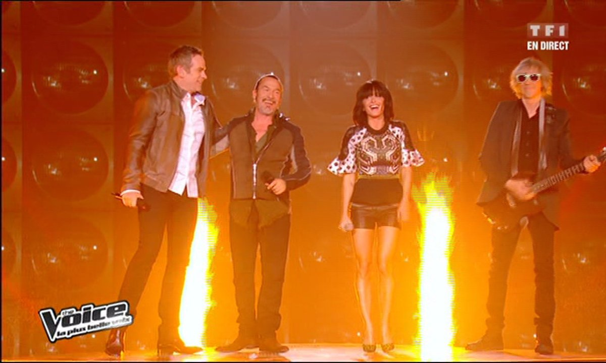 Garou & Louis Bertignac & Florent Pagny & Jenifer-Allumer le feu (Johnny Hallyday) (saison 02)
