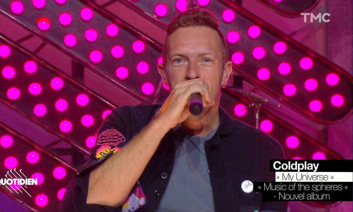 """Coldplay : """"My universe"""" en live pour Quotidien"""