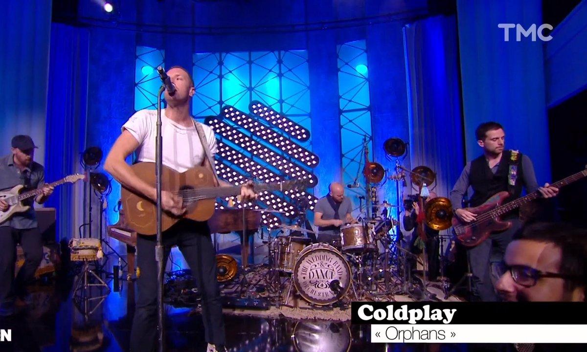 """Coldplay : """"Orphans"""" en live pour Quotidien"""