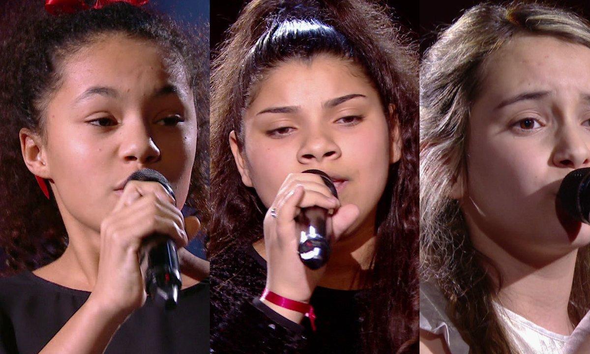Coline VS Antonia VS Camille chantent « Je l'aime à mourir » de Francis Cabrel (Team Amel Bent)