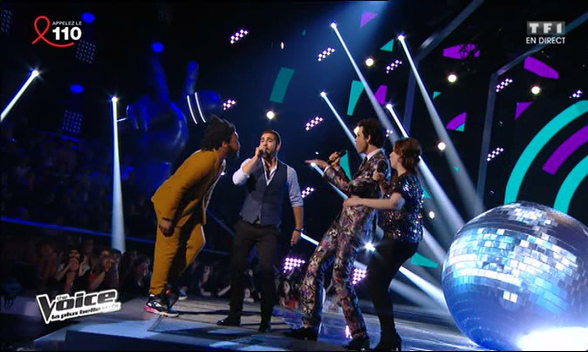 Mika & Caroline Savoie & Kendji Girac & Spleen - Just Can't Get Enough (Depeche Mode) (saison 03)