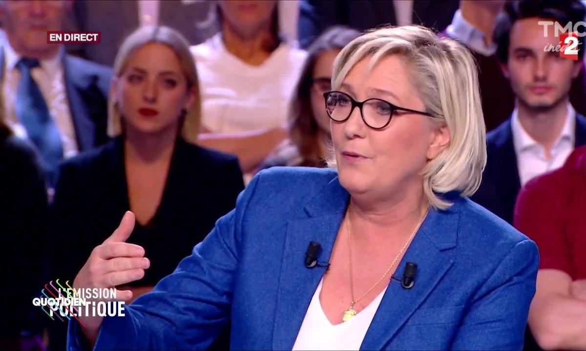 Le come back de Marine Le Pen ? Un gros flop