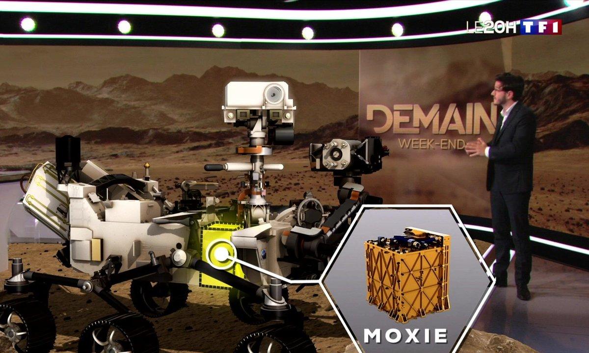Comment Perseverance a réussi à produire de l'oxygène sur Mars