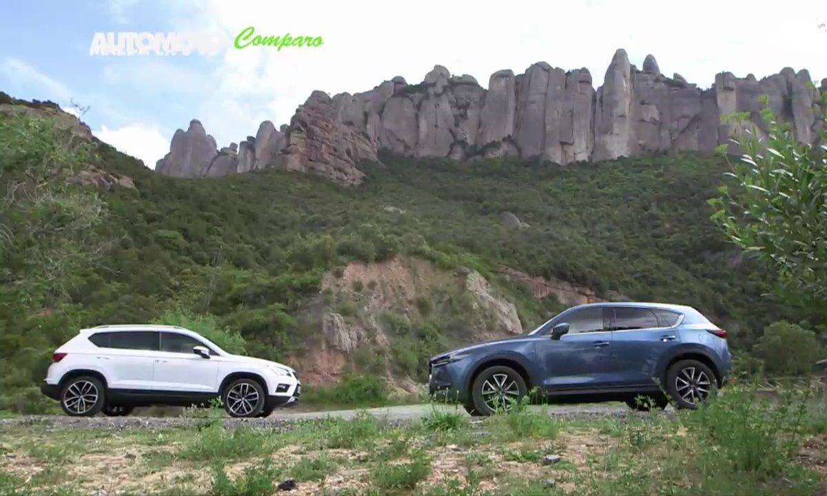 Le match : Mazda CX-5 VS. Seat Ateca