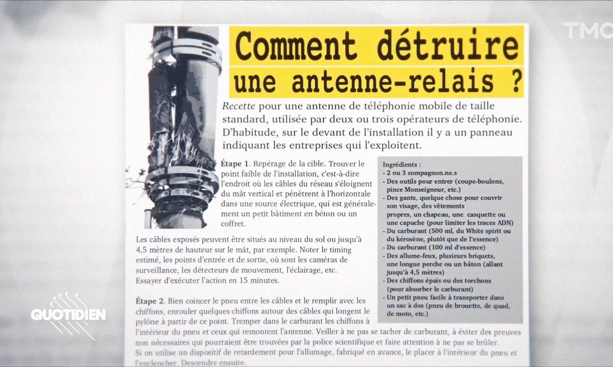 Complotistes ou anti-capitalistes : qui veut la peau des antennes 5G ?