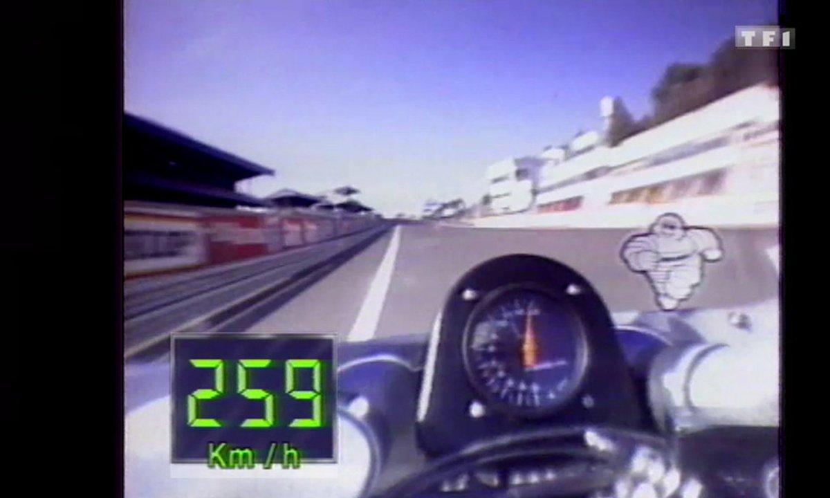 24H du Mans Moto : Caméra embarquée (16 Juillet 1989 dans Automoto)