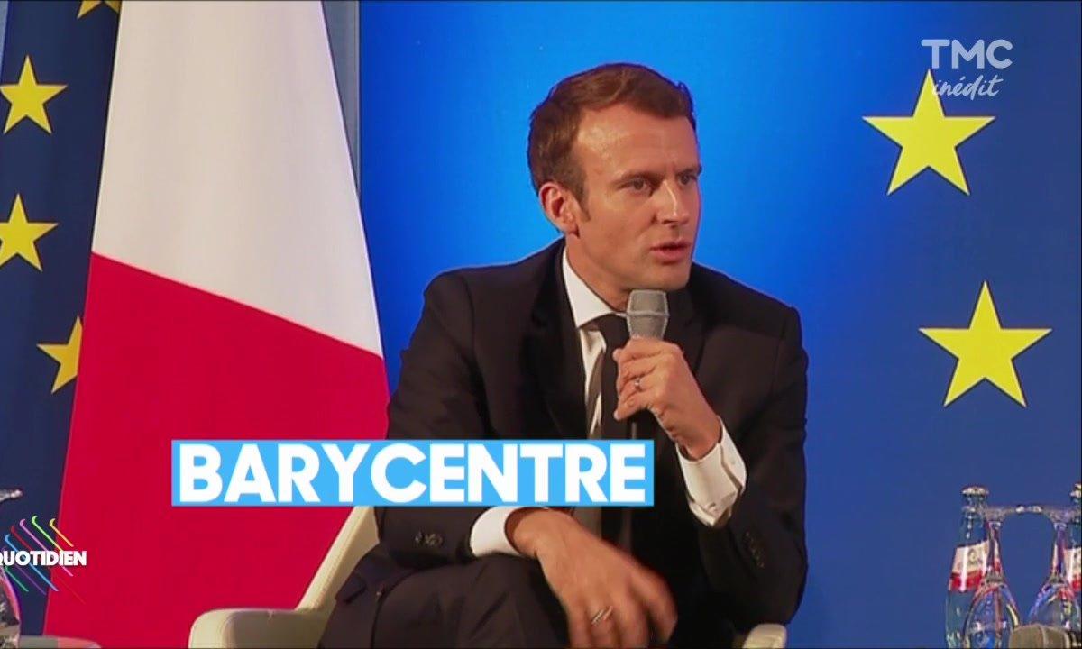 La leçon de français by Macron