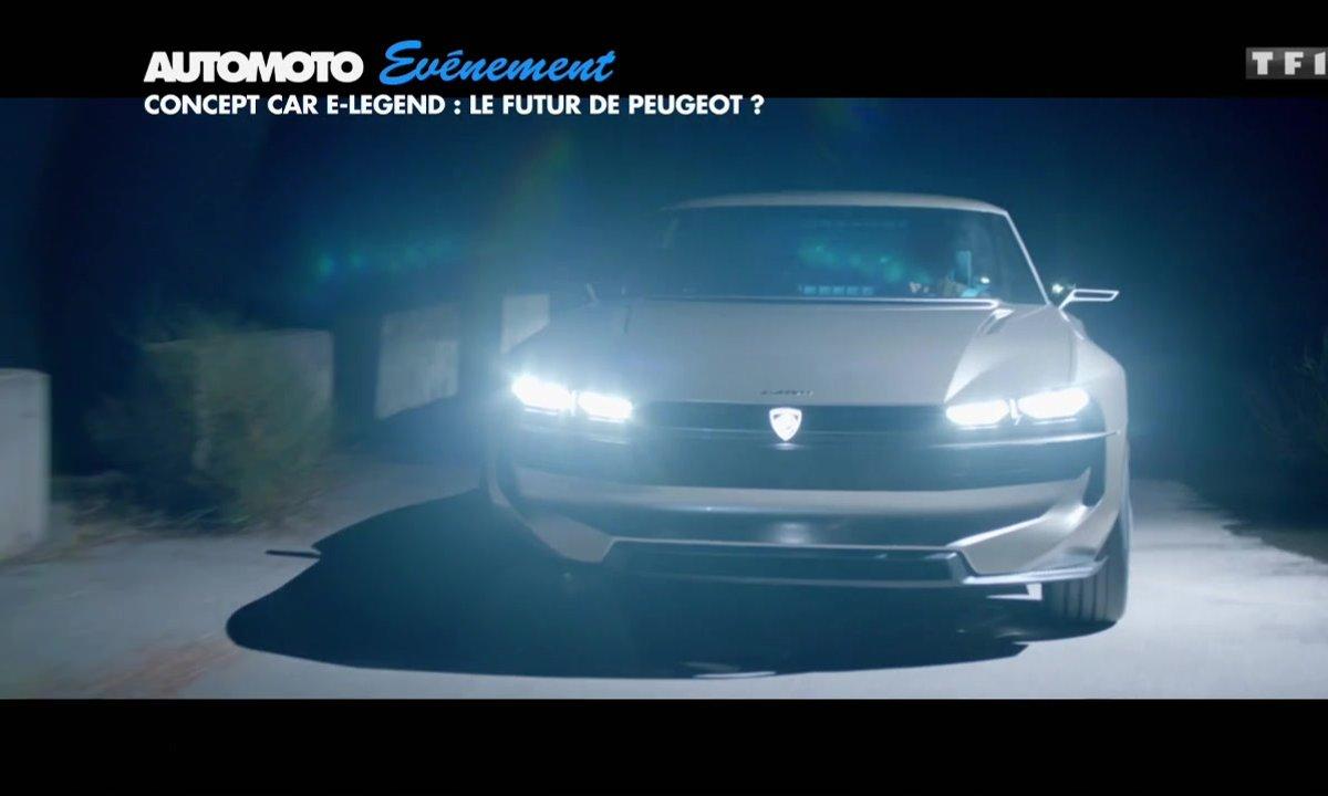 Concept Car E-Legend : le futur de Peugeot ?