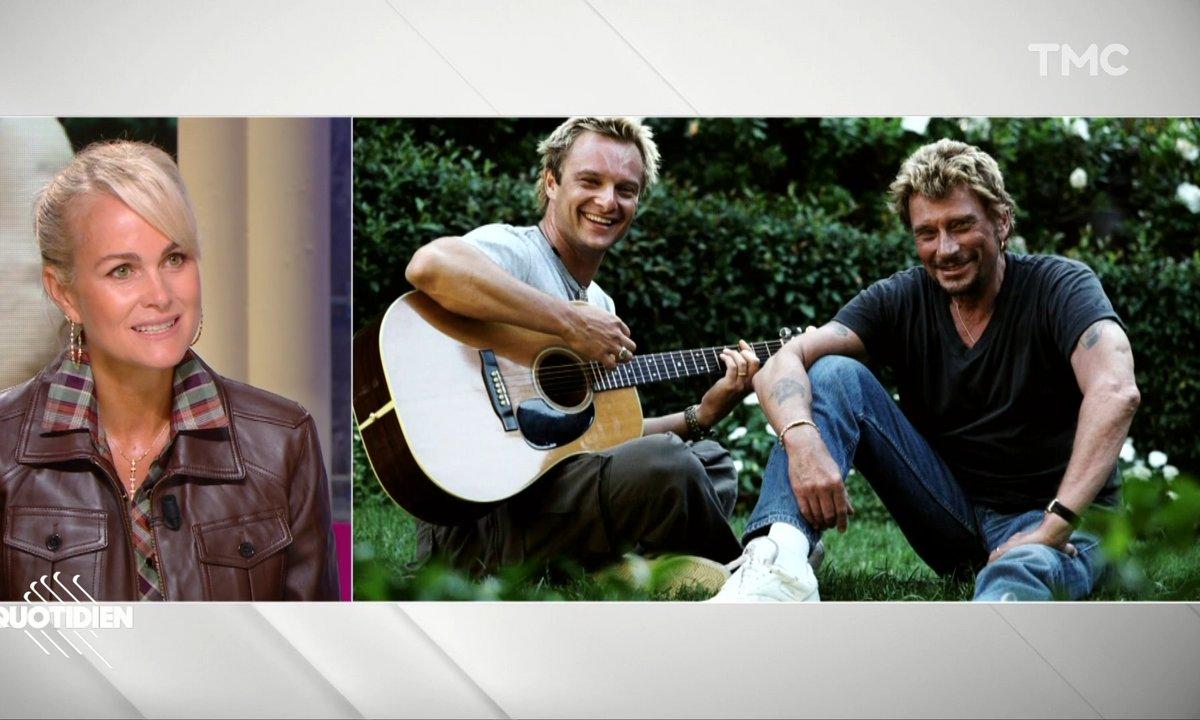 """Concert hommage à Johnny Hallyday : """"J'aurai rêvé que David chante ce soir-là"""", regrette Laeticia Hallyday"""