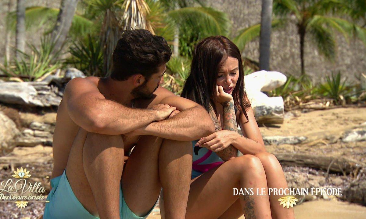 Confessions,  révélations et soirée hawaïenne dans l'épisode 46 de La Villa des Cœurs brisés