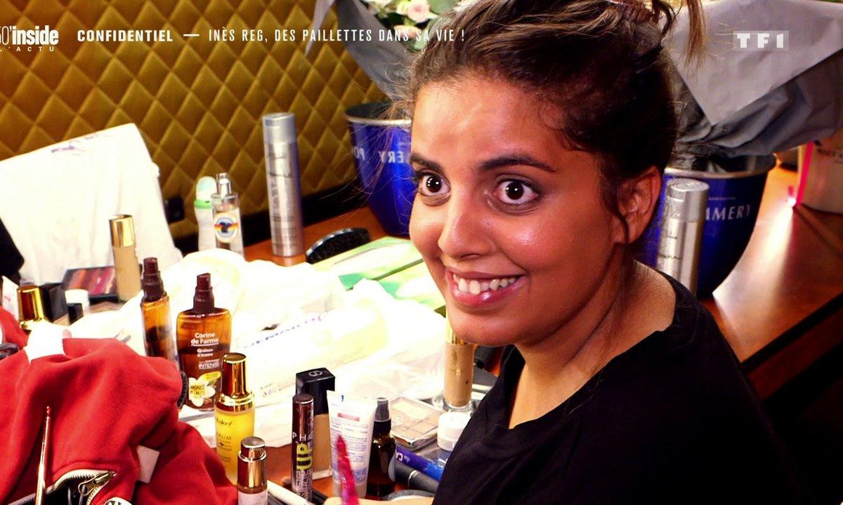 Confidentiel : Inès Reg, des paillettes dans sa vie