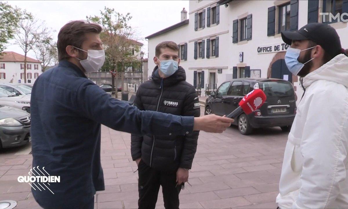 Confinement : sur la côte basque, les Parisiens ne sont pas les bienvenus