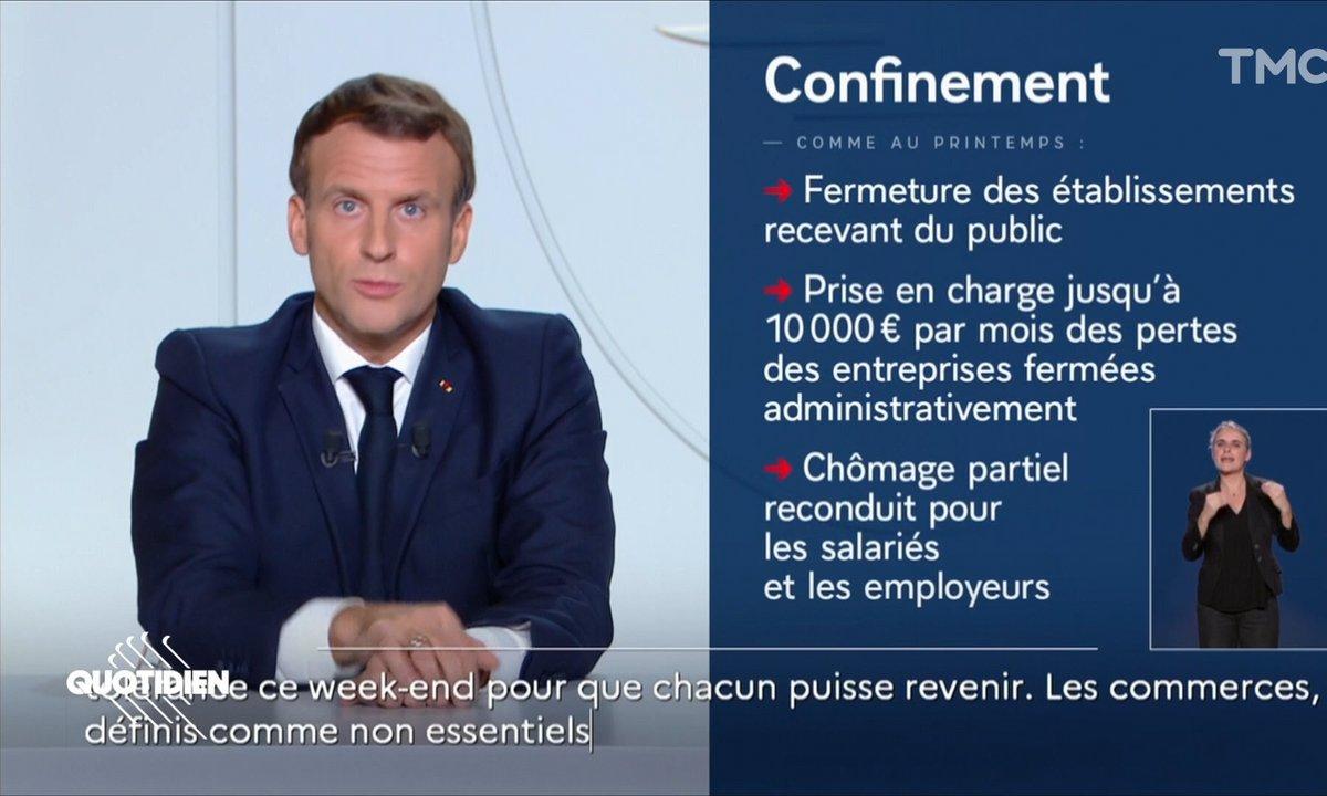 Confinement, télétravail, écoles : ce qu'il faut retenir des annonces d'Emmanuel Macron