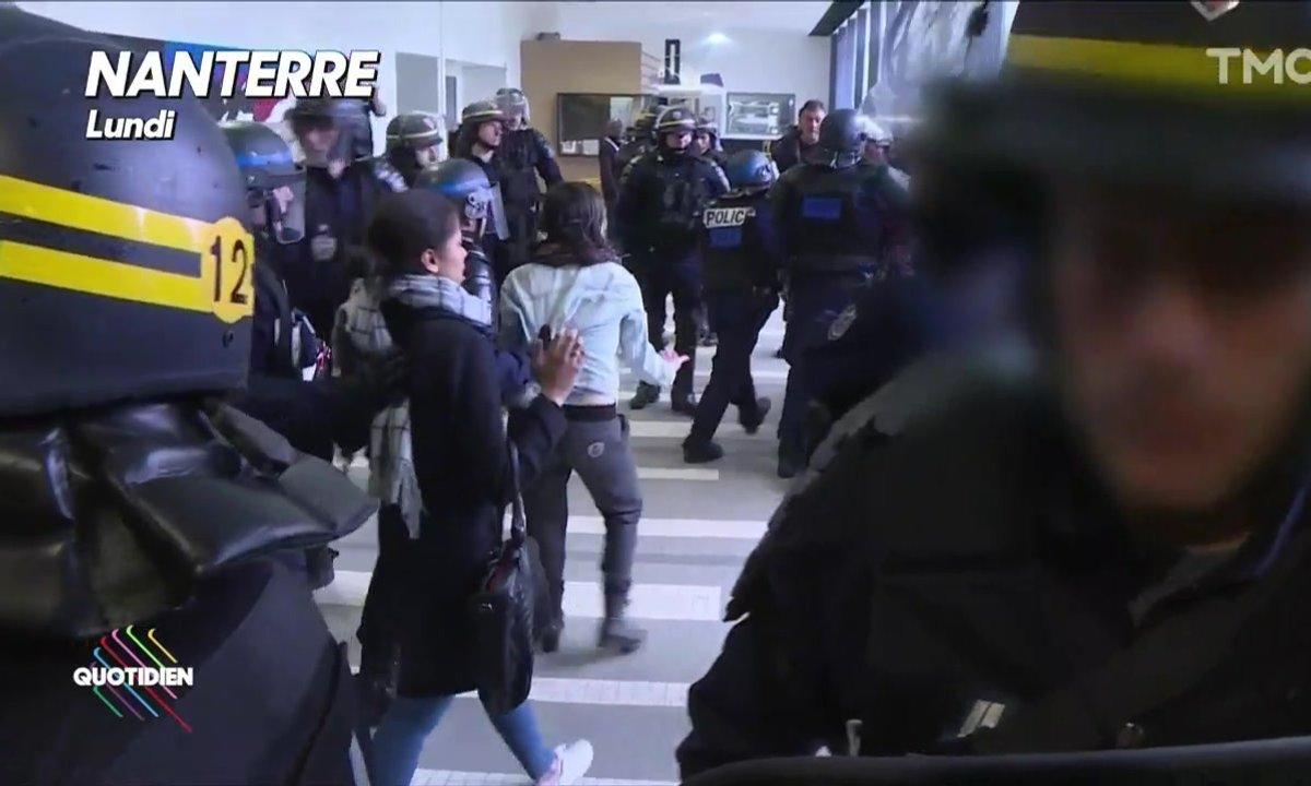 Contre les étudiants, la Sorbonne envoie les CRS