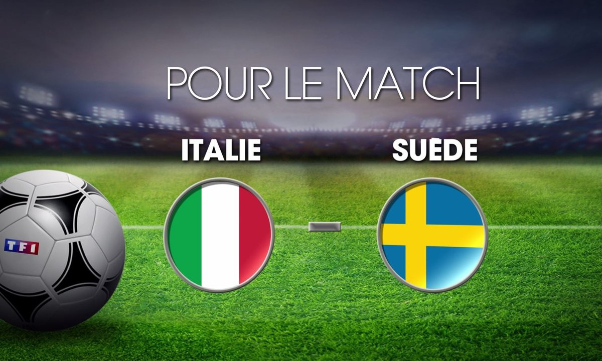 Italie - Suède : Découvrez les cotes du match
