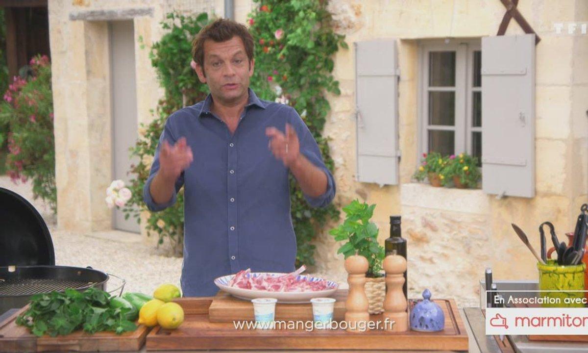Côtelettes d'agneau sauce fraîcheur