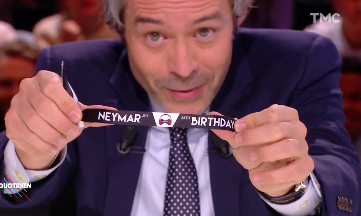 L'anniversaire DINGUE de Neymar - Quotidien du 06 février