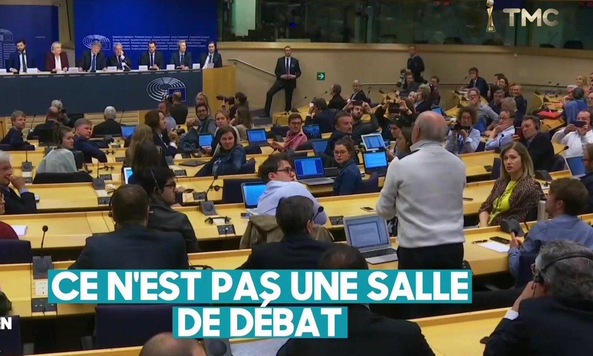 Coup de chapeau à Nicolas Gros-Verheyde face à Marine Le Pen