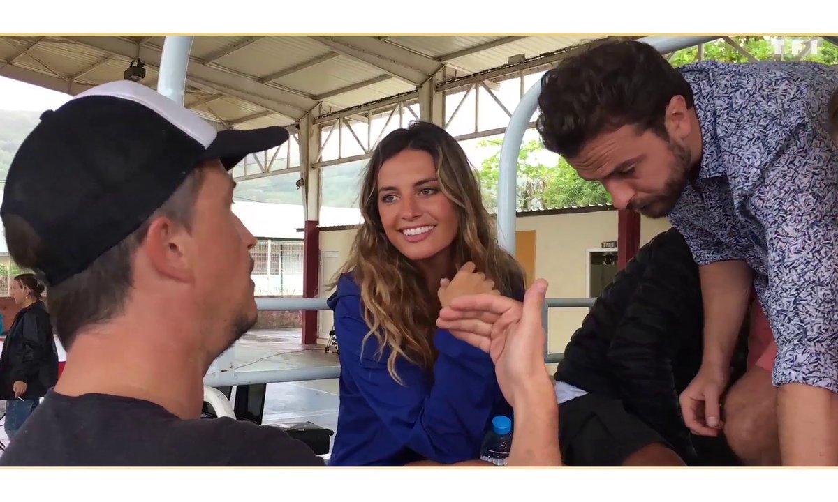 Les coulisses du tournage de Coup de foudre à Bora Bora avec Laëtitia Milot et Philippe Bas