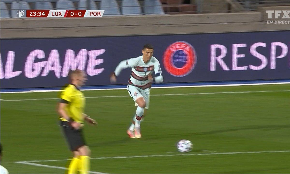 Luxembourg - Portugal (0 - 0) : Voir le coup franc de Cristiano Ronaldo en vidéo