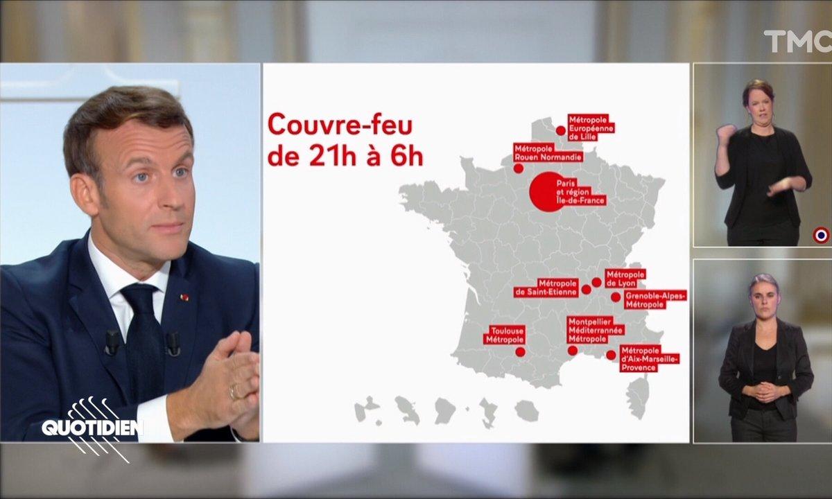 Couvre-feu, télétravail, vacances : ce qu'il faut retenir des annonces d'Emmanuel Macron