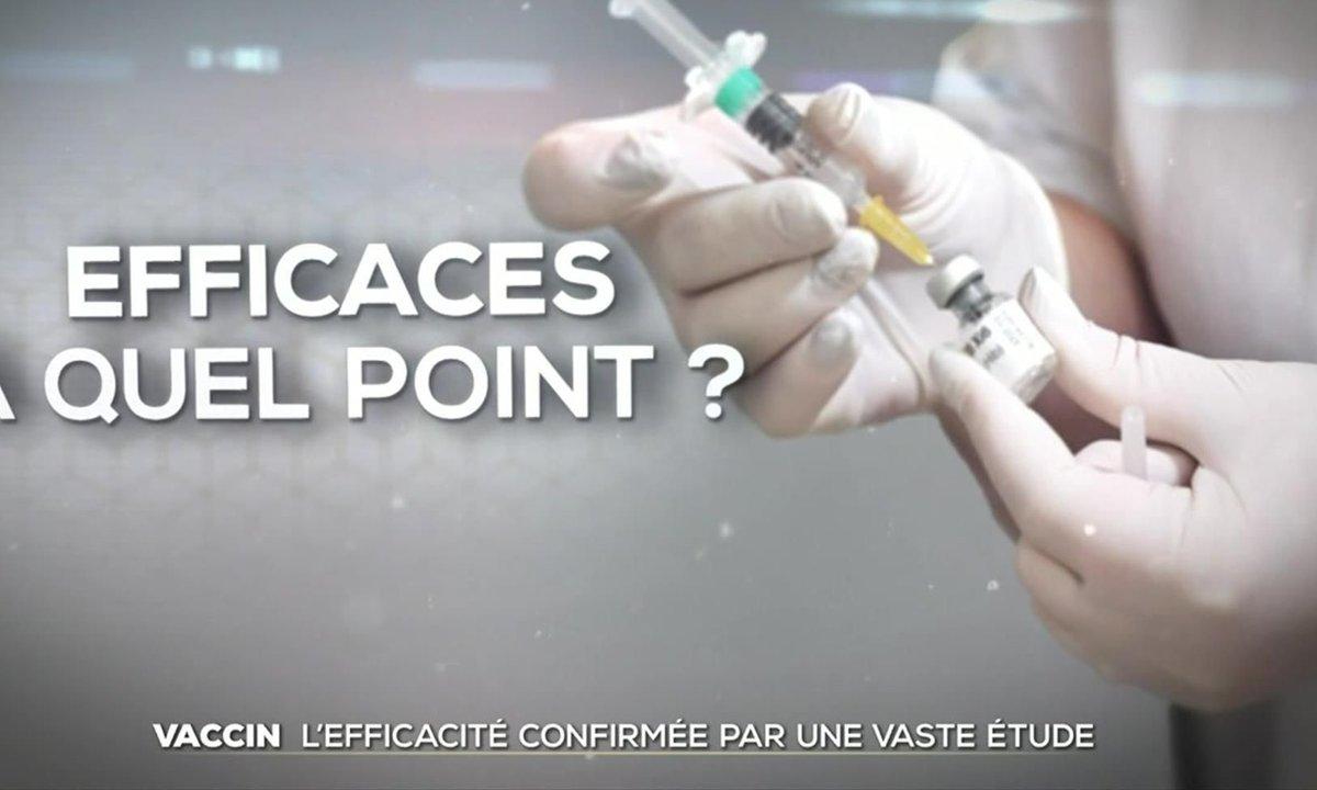 Covid-19 : l'efficacité des vaccins confirmée par une vaste étude française