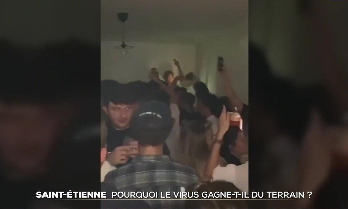 Covid-19 : pourquoi le virus gagne-t-il du terrain à Saint-Étienne ?