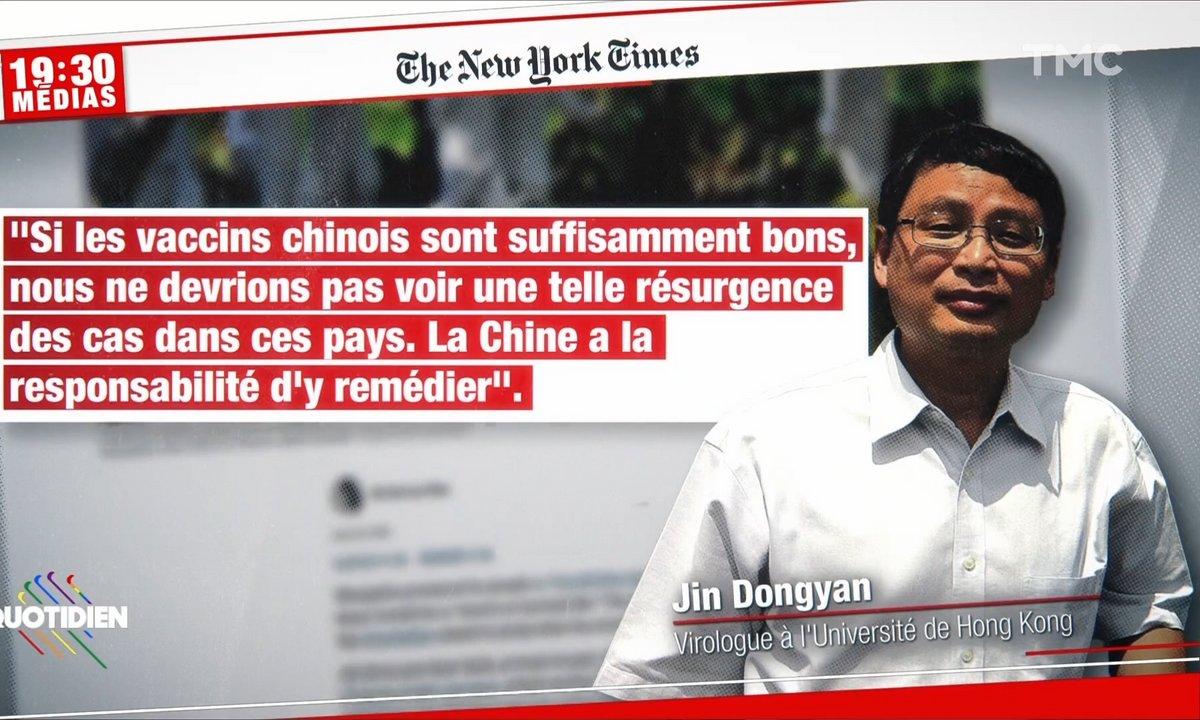 Covid : l'efficacité du vaccin chinois en question