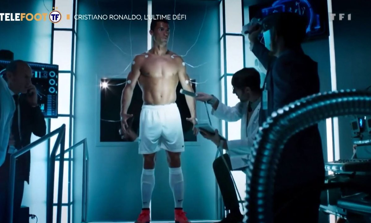 Cristiano Ronaldo : un athlète surhumain !
