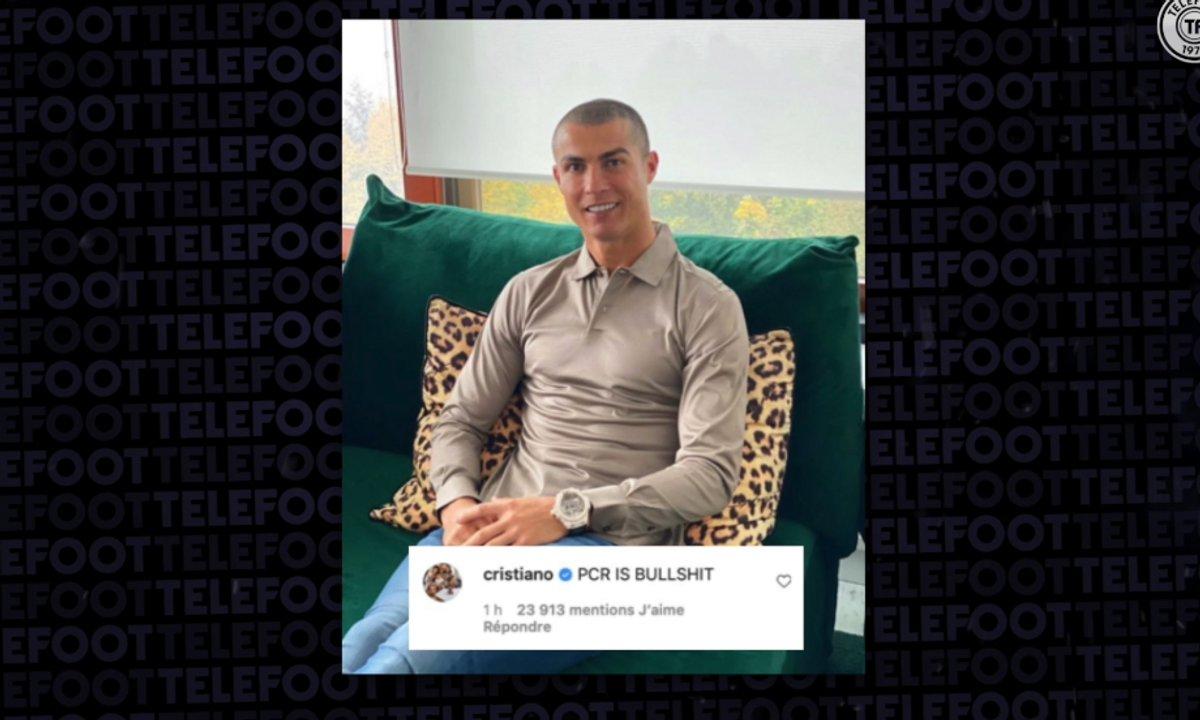 VIDEO - Cristiano Ronaldo fait polémique sur Instagram