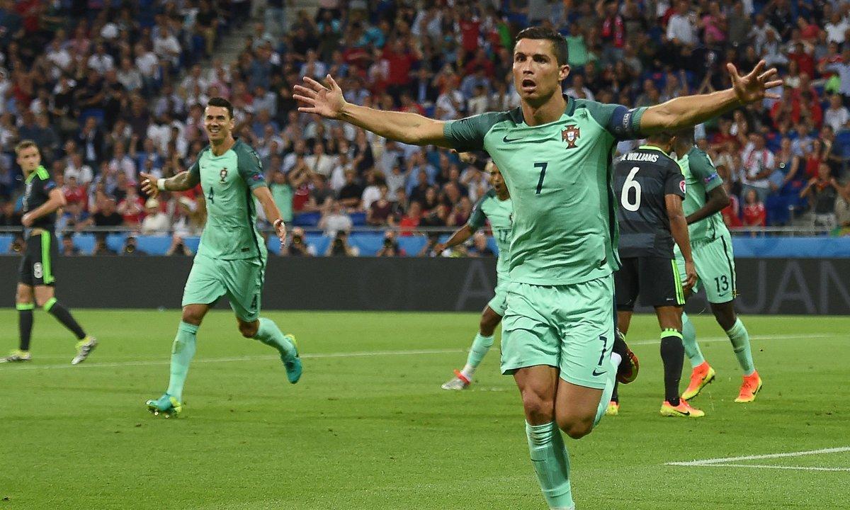 Voir tous les buts de Ronaldo lors des précédents Championnats d'Europe