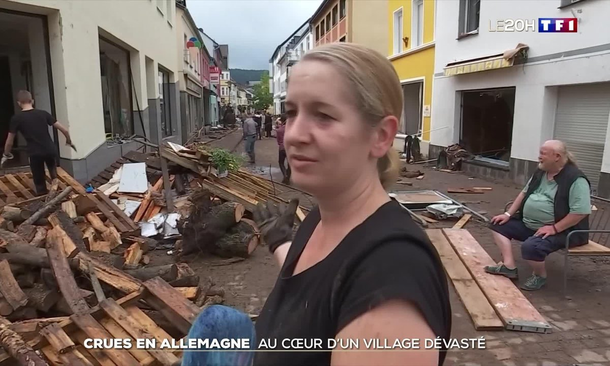 Crues en Allemagne : les habitants de Schleiden Gemünd sous le choc