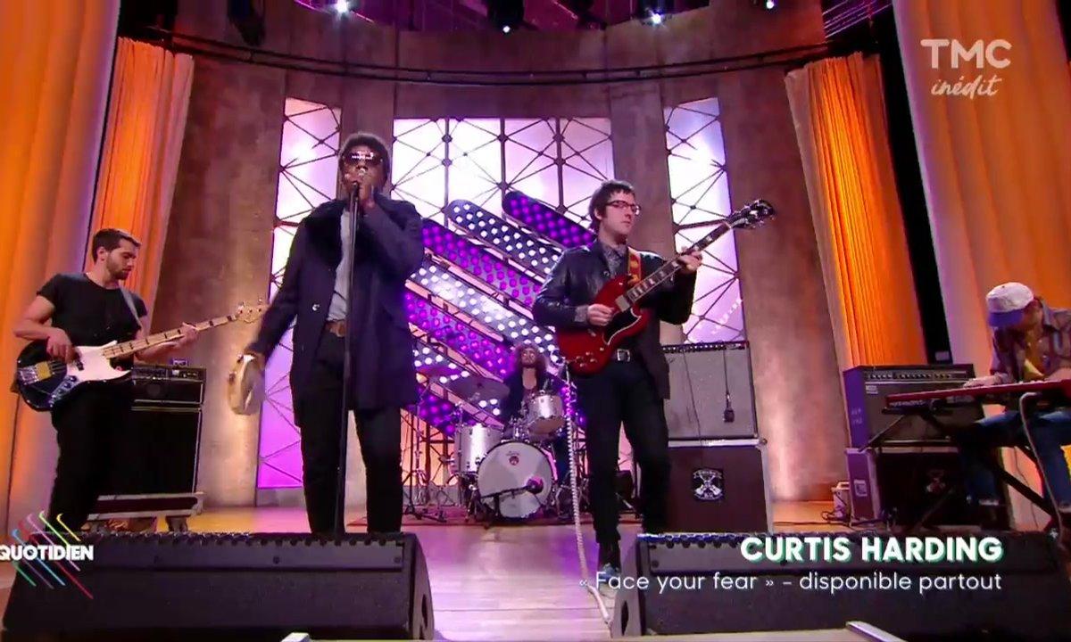 """Curtis Harding :""""Need your love"""" en live sur Quotidien"""
