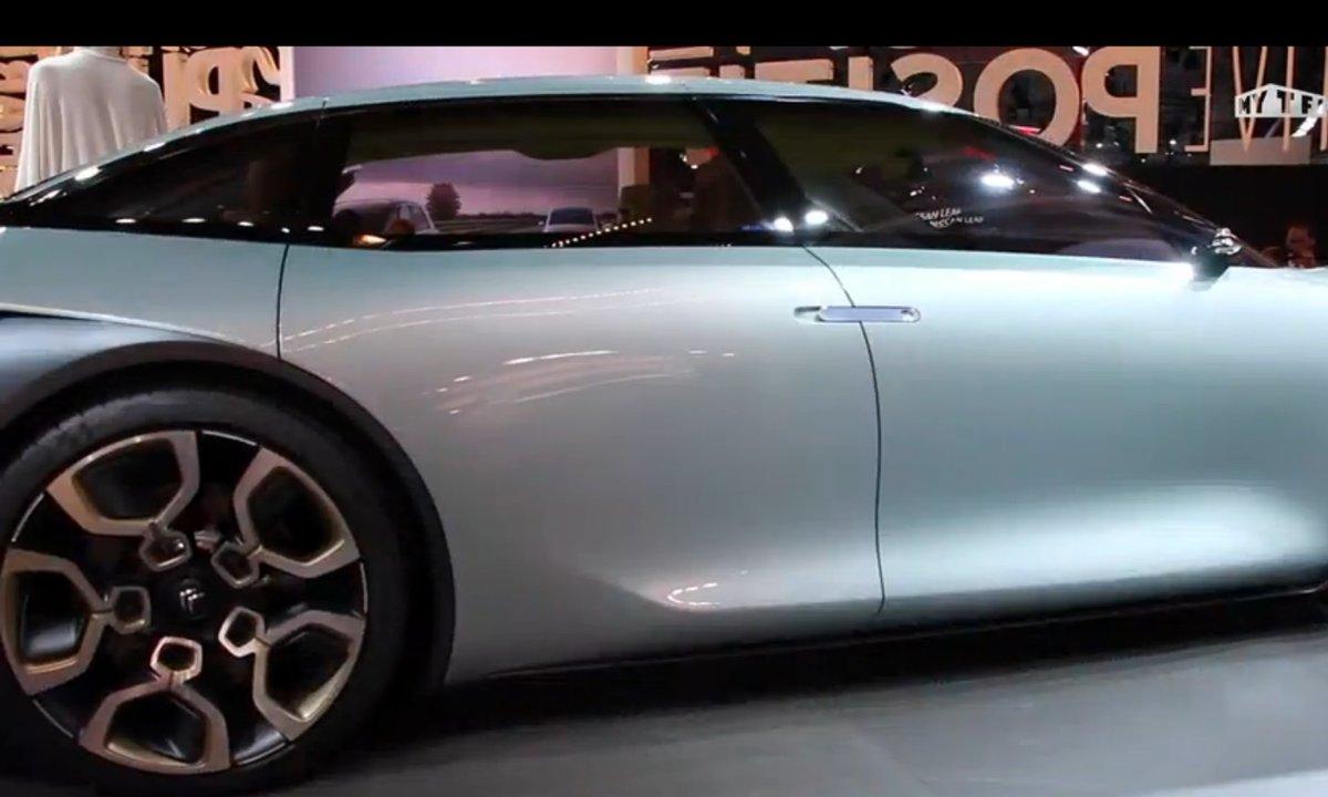 Mondial de l'Auto 2016 : Citroën CXperience Concept, la future C5 ?