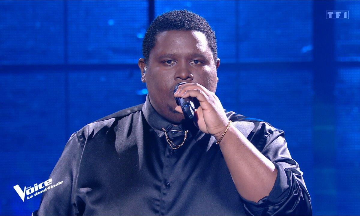 """The Voice 2021 – Cyprien chante """"Corps"""" de Yseult (Demi-finale)"""