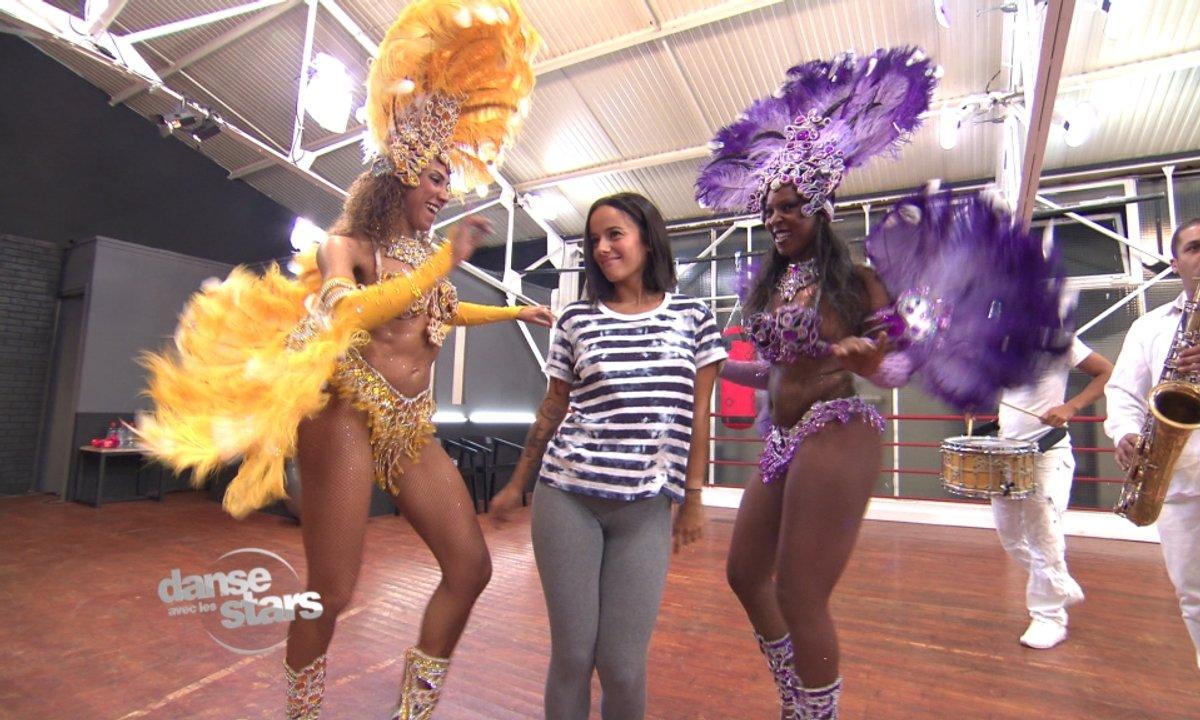 #DALS Répétitions : Alizée dans une ambiance carnaval de Rio…