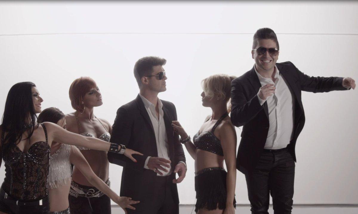 """Danse avec les stars 4 : Chris Marques, Robin Thicke ne lui dit pas """"merci"""" !"""