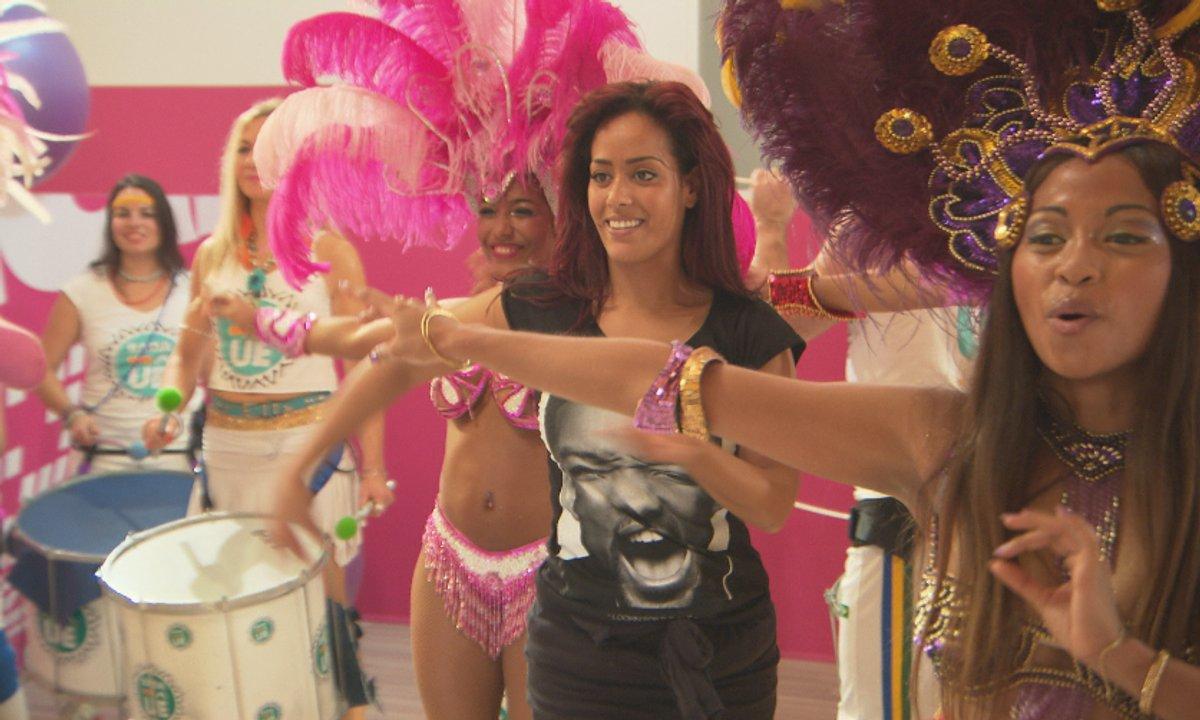 Amel Bent : une samba pour retrouver le moral