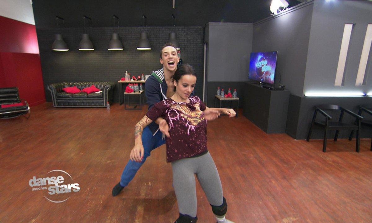 #DALS Répétitions : Alizée  lâche prise