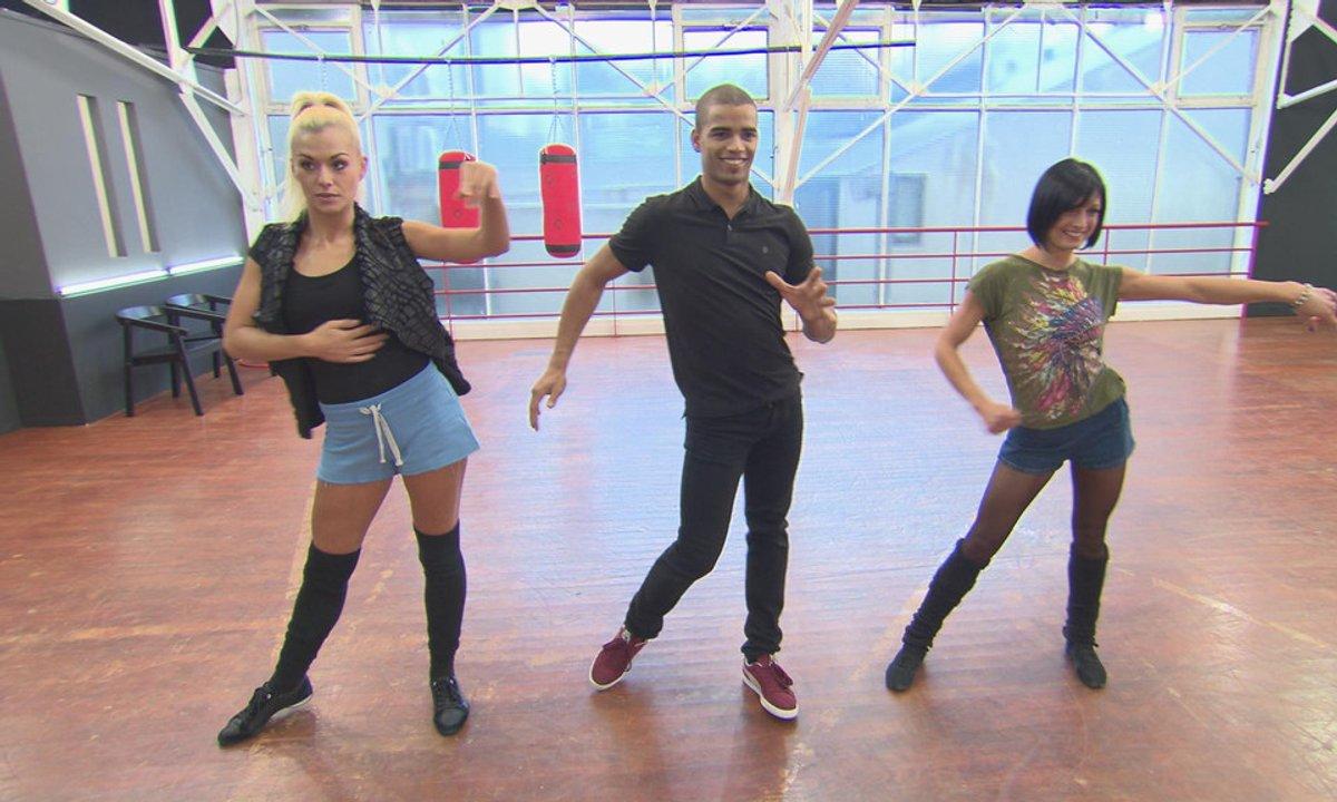 #DALS répétitions : Brahim Zaibat et la danse de l'amour !