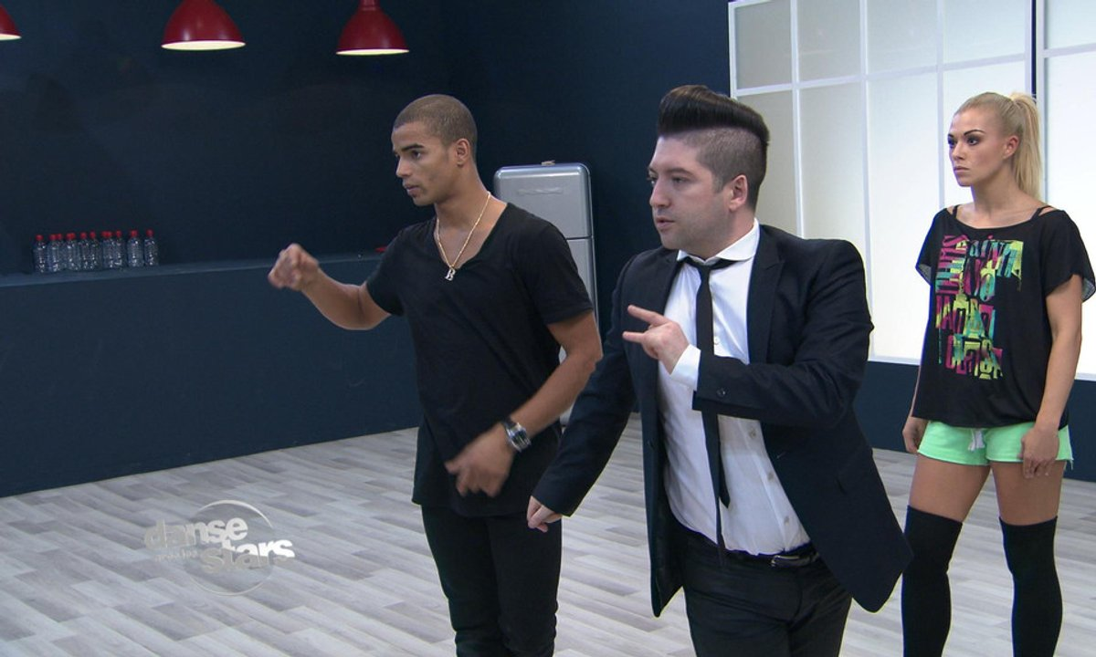 #DALS Répétitions : Brahim Zaibat guidé par Chris Marques
