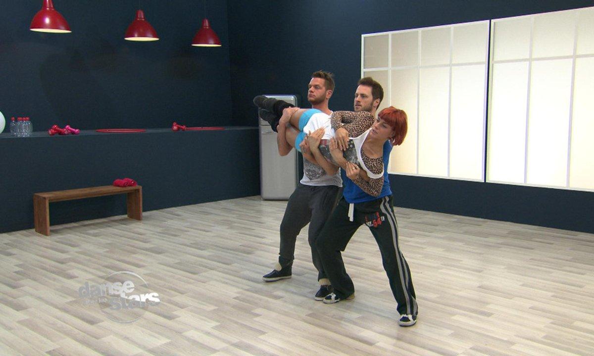 #DALS Répétitions : Keen'V, taillé gymnaste !