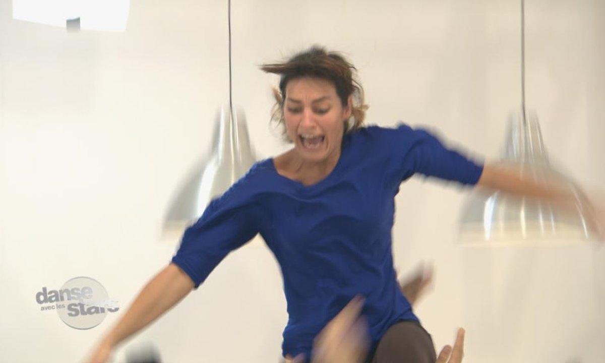 """#DALS répétitions : Laetitia Milot """"Tu as failli me casser le cou !"""