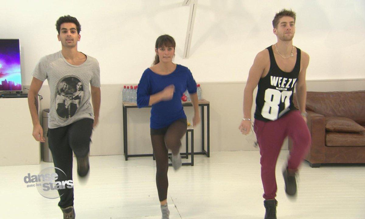 #DALS répétitions : Laetitia Milot... Un jive à trois !