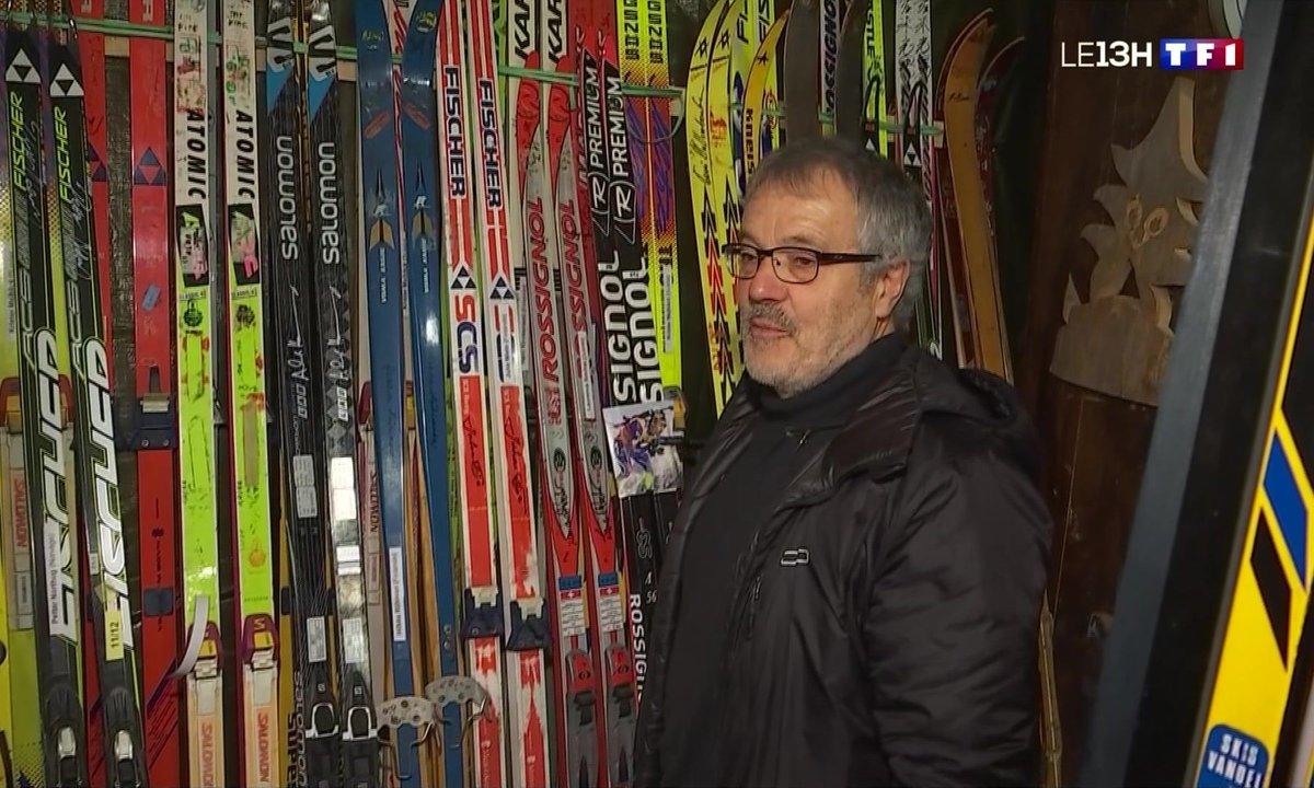 Les skis anciens